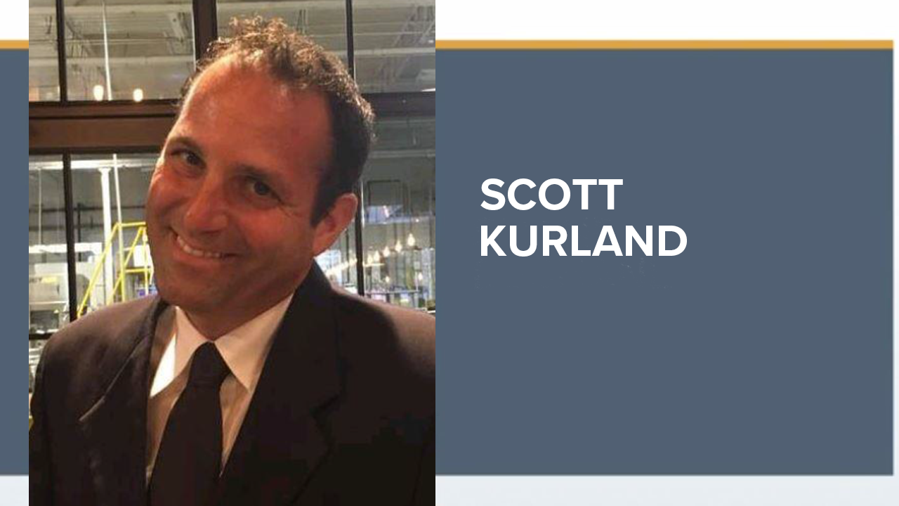 Scott Kurland, a 45-year-old Wesley Chapel resident, left