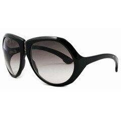 Bottega Veneta by Safilo - Sonnenbrillen 2007: Shopping, Trends & Star-Modelle - Die riesigen, traumhaft tränenförmigen Brillengläser sind einfach perfekt um den Star zu spielen. Wir sind begeistert: vom eleganten Stil und dem geschwungenen Design der Montur dieses Glamour-Modells...