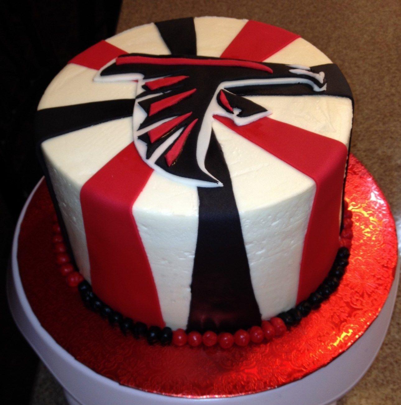 Falcons Birthday Cake Atlanta Cakes Happy Ideas