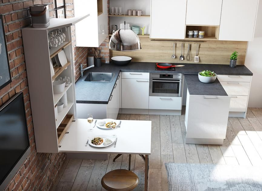 die besten wohntipps f r die k che einen essplatz einplanen k che pinterest kuchen. Black Bedroom Furniture Sets. Home Design Ideas