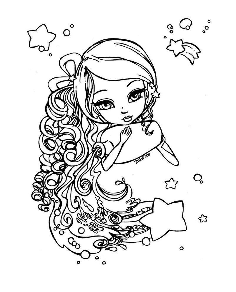 zodiac #aquarius | Merp. | Pinterest | Sternzeichen und Ausmalbilder