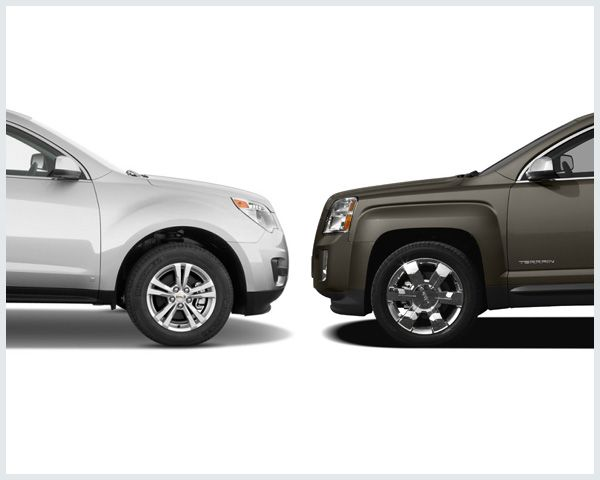 2017 Chevrolet Equinox Vs 2017 Gmc Terrain Compare Cars