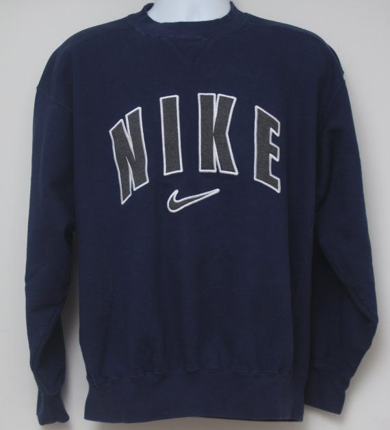 Rare 90 39 S Vintage Quot Nike Quot Sweatshirt Sz Medium Men 39 S Exclusive Vintage Nike Sweatshirt Sweatshirts Vintage Nike
