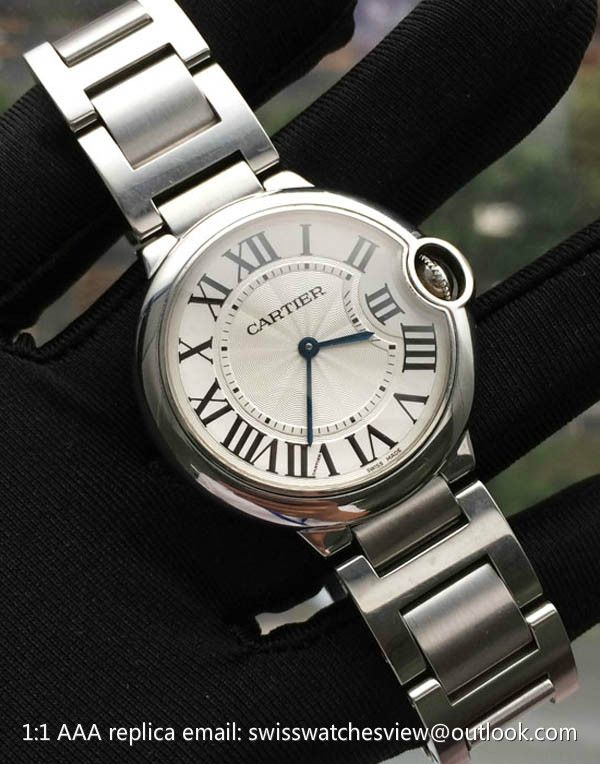 Cartier Ballon Bleu De Cartier Steel Midsize 36mm Watch W69011z4