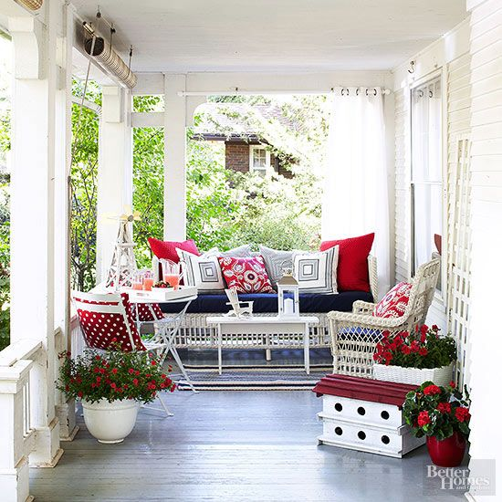Outdoor Smart And Creative Design Front Porch Ideas: Make Over Your Porch With These 22 Creative Updates