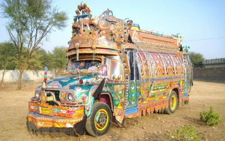 The tricked out 'Jingle Trucks' of Pakistan | Dangerous Minds
