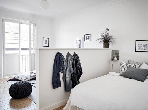 작은집 인테리어 공간 활용에 좋은 가벽 인테리어 ,공간분리 ...