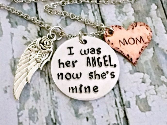 Angel Mom* Memorial Jewelry* Memorial Keepsake* Loss Of ...