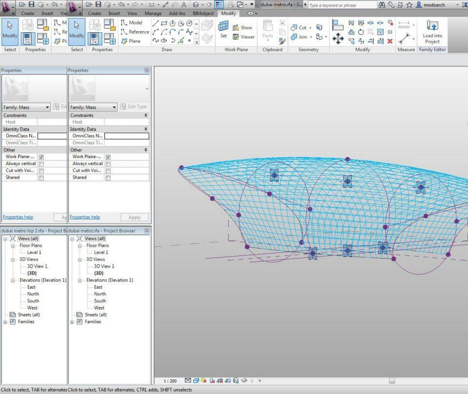 dubai metro 1 parametric design pinterest revit architecture