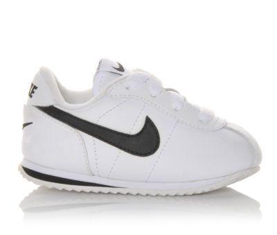Nike Infant Cortez Leather White/Black | Shoe Carnival ...
