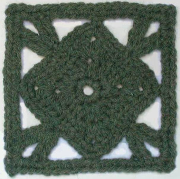 Free crochet afghan square pattern: Foofaraw | Crochet | Pinterest