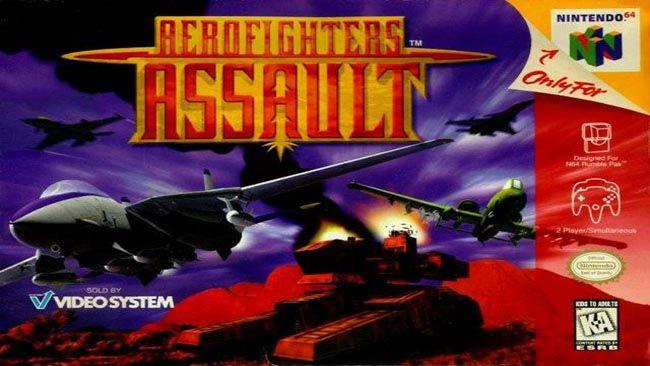 Aero Fighters Assault N64 Rom Download Juegos Retro Juegos