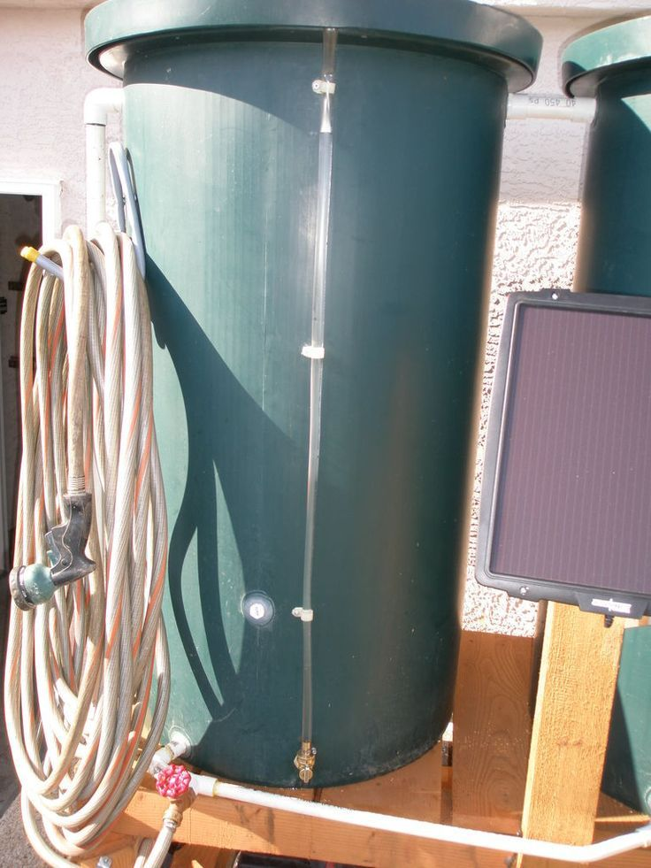 Pin by Miss D.I.Y on DIY Greenhouse Water barrel, Solar