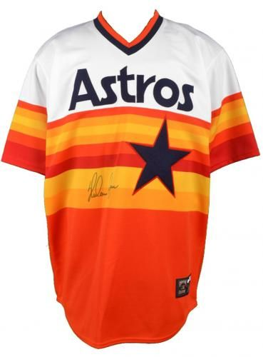 check out 007f3 2f302 Autographed Nolan Ryan Jersey - Hall of Fame Hologram ...