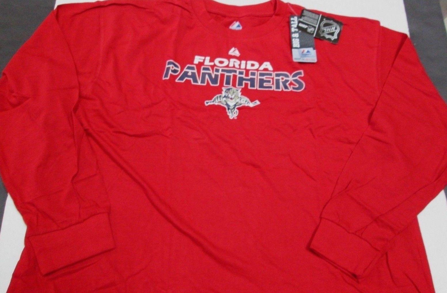 separation shoes 735ef 88b0e BRAND NEW NHL MEN'S FLORIDA PANTHERS LONG SLEEVE COTTON LOGO ...