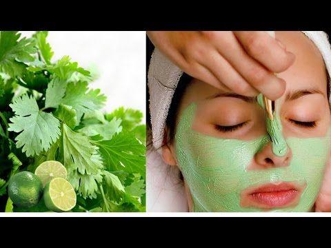 como limpiar las manchas de la cara con perejil