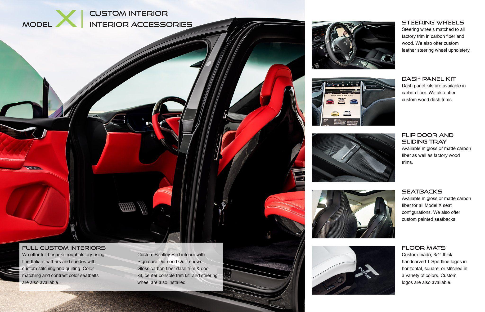 Custom Interior Upgrade with Carbon Fiber Interior Dash