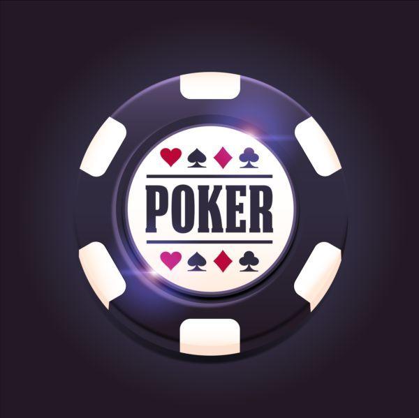 Casino Poker Chips Background Vector 04 Poker Chips Casino Poker Poker