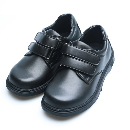 older boys black school shoes
