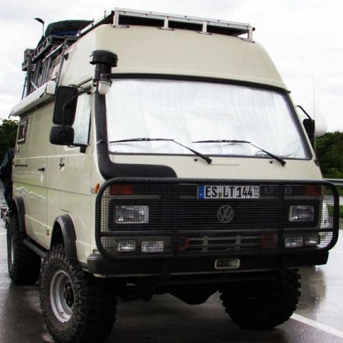 Mitsubishi Fuso 4x4 Overland Camper On German Plates By: Can I Please Have One Of These!!! Volkswagen LT 35 4x4