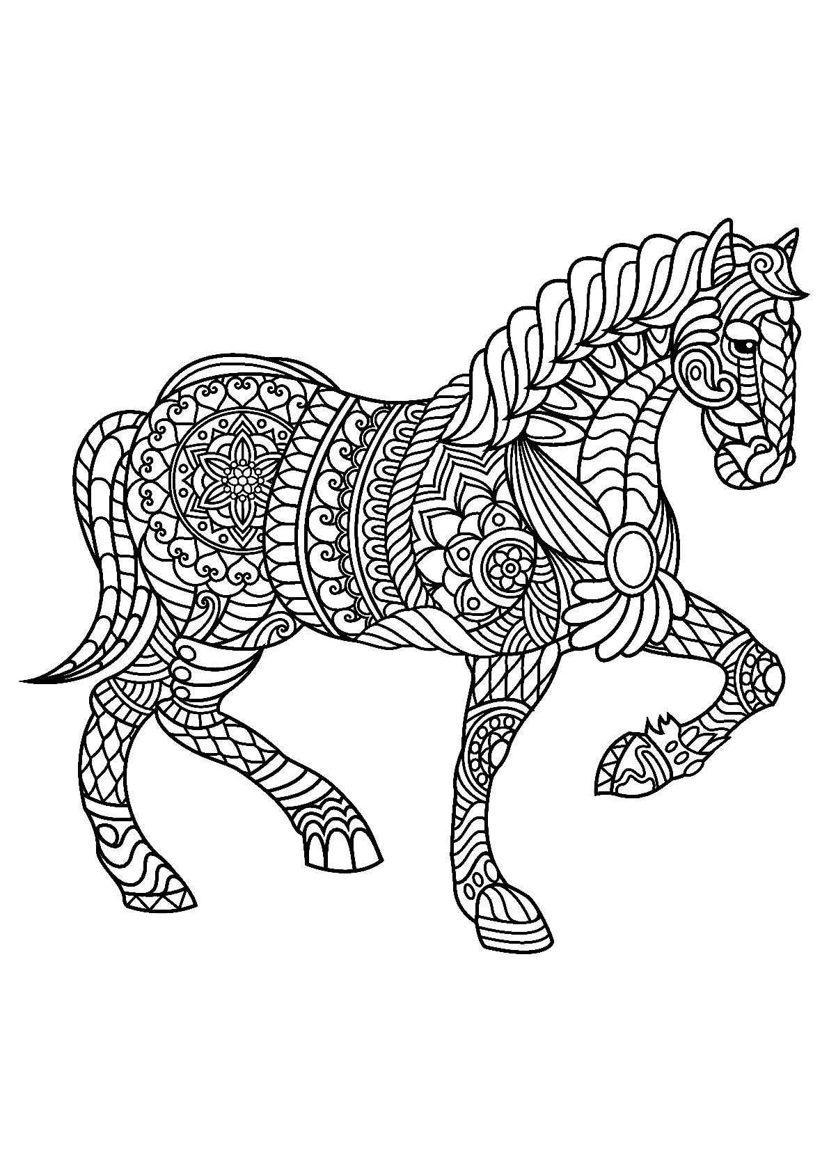 10 New Ideas Free Horse Coloring Pages In 2021 Horse Coloring Horse Coloring Books Horse Coloring Pages [ 1684 x 1191 Pixel ]