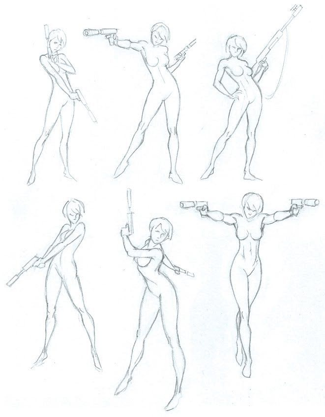 Super Character Design Poses Pdf : Comic book reference poses google search