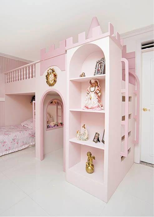 32ee52cf8 Quarto infantil Triliche Infantil, Castelo Infantil, Quarto Americano, Cama  De Menina, Casa