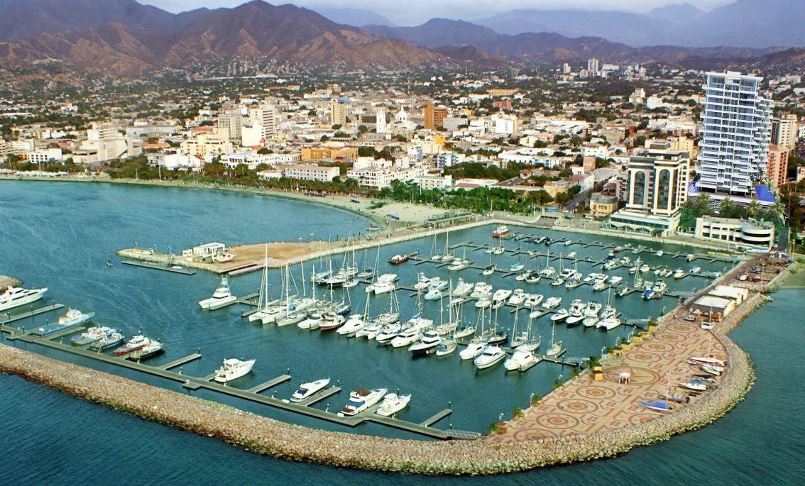 Kota Santa Marta Kolombia