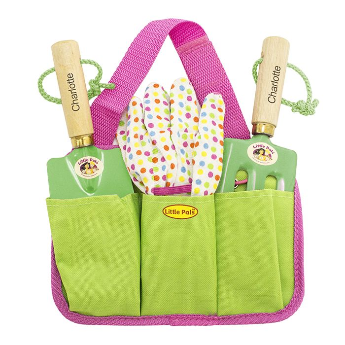 Https://justtherightgift.co.uk/personalised Girls Gardening Tool Kit.html