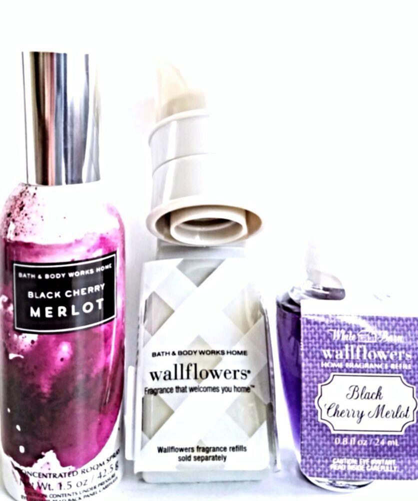 Bath And Body Works Black Cherry Merlot Room Spray Bulb Refill