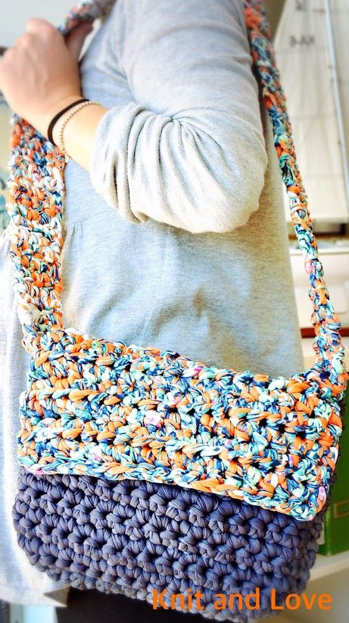a Bolso cursos fácil Pinterest Manualidades bandolera crochet ggwrq58