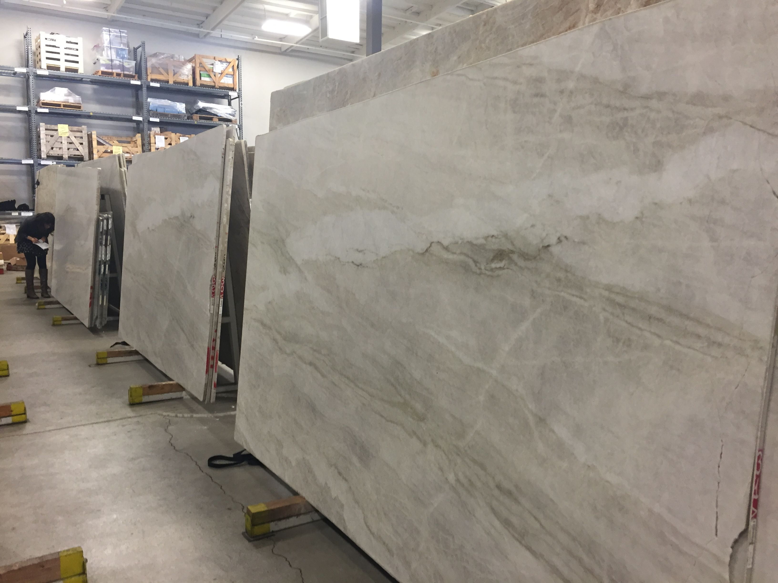 My New Counters Perla Leathered Quartzite From Walker Zanger