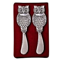 Thirstystone 2-pc. Owl Spreader Set