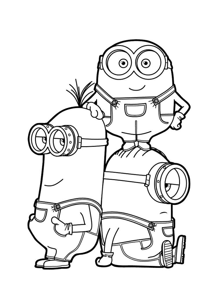Despicable Me 3 Coloring Pages Pdf. Despicable Me 3 Is The Third Film From  The Despicable Me… Minion Coloring Pages, Minions Coloring Pages, Disney Coloring  Pages