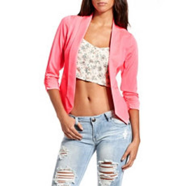 Pink blazer from Charlotte russe!!!!! Only about $35