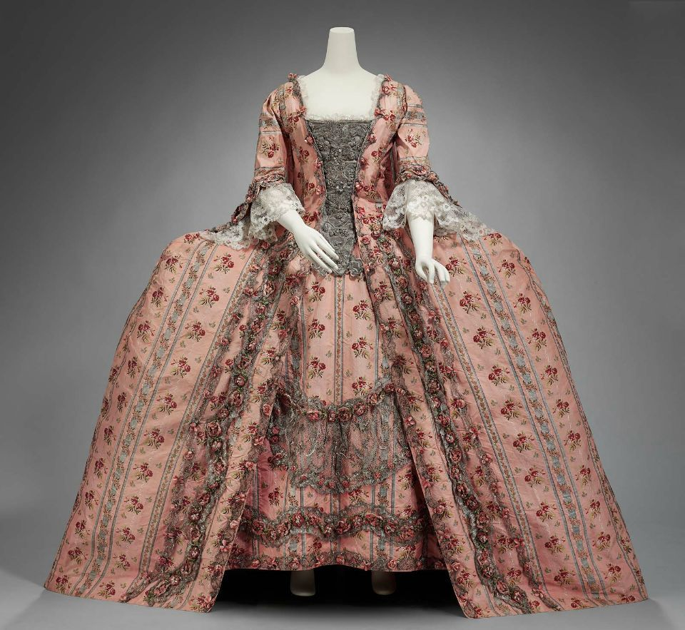 1770 Formal dress, made in France