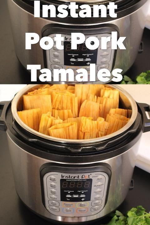 Instant Pot Pork Tamales