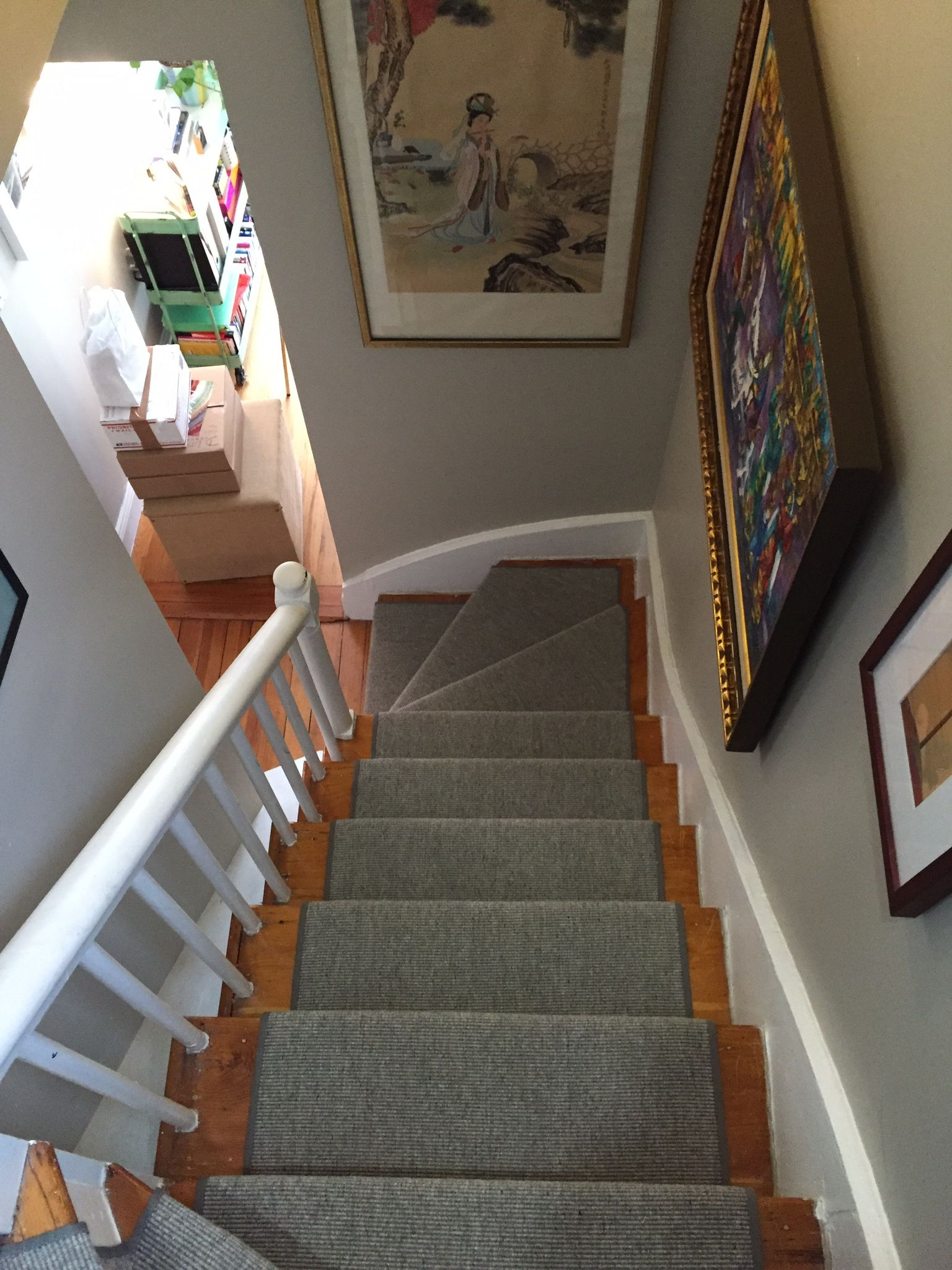 Best Gray Wool Stair Runner Home Carpet Home Custom Area Rugs 400 x 300