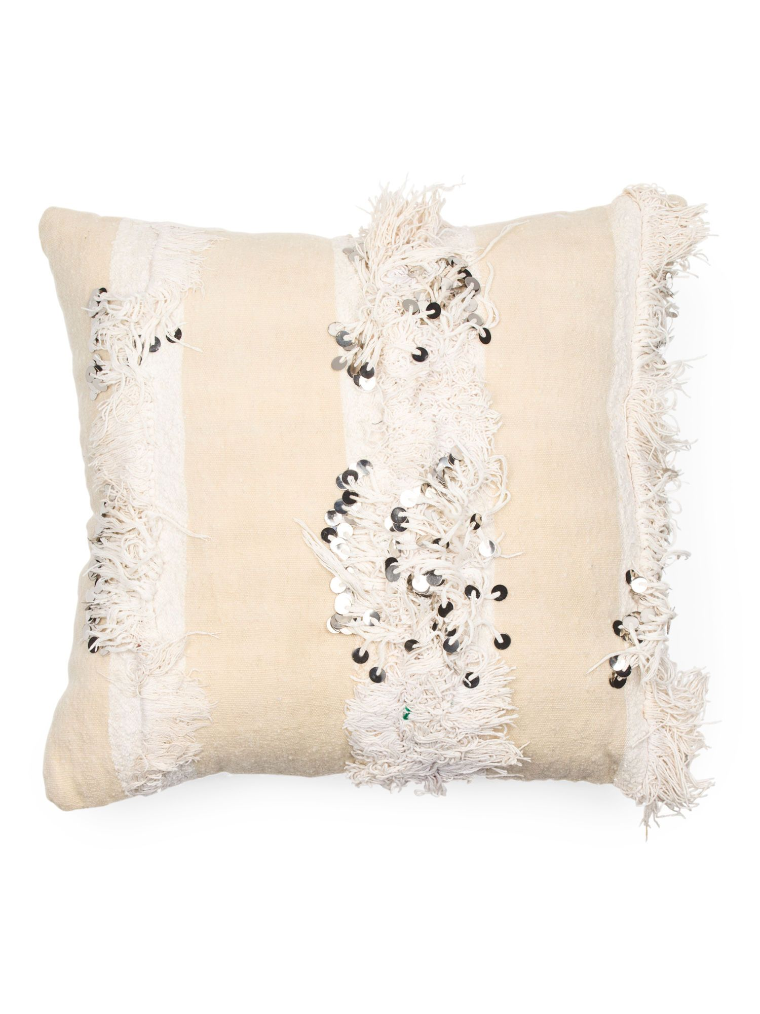 Made In Morocco One Of A Kind Wedding Pillow Decorative
