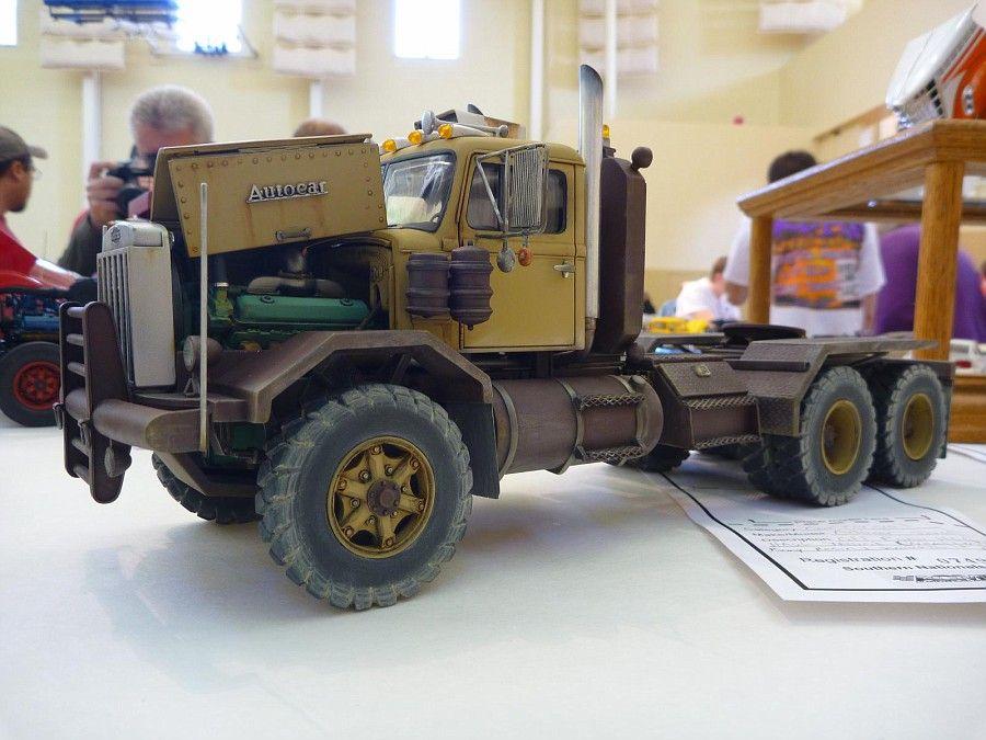 Autocar Truck Model.