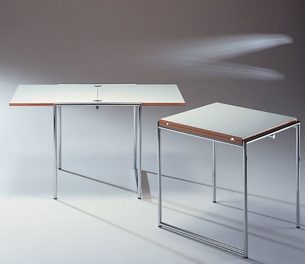 Superb Folding Table Jean T. By Eileen Gray 1929