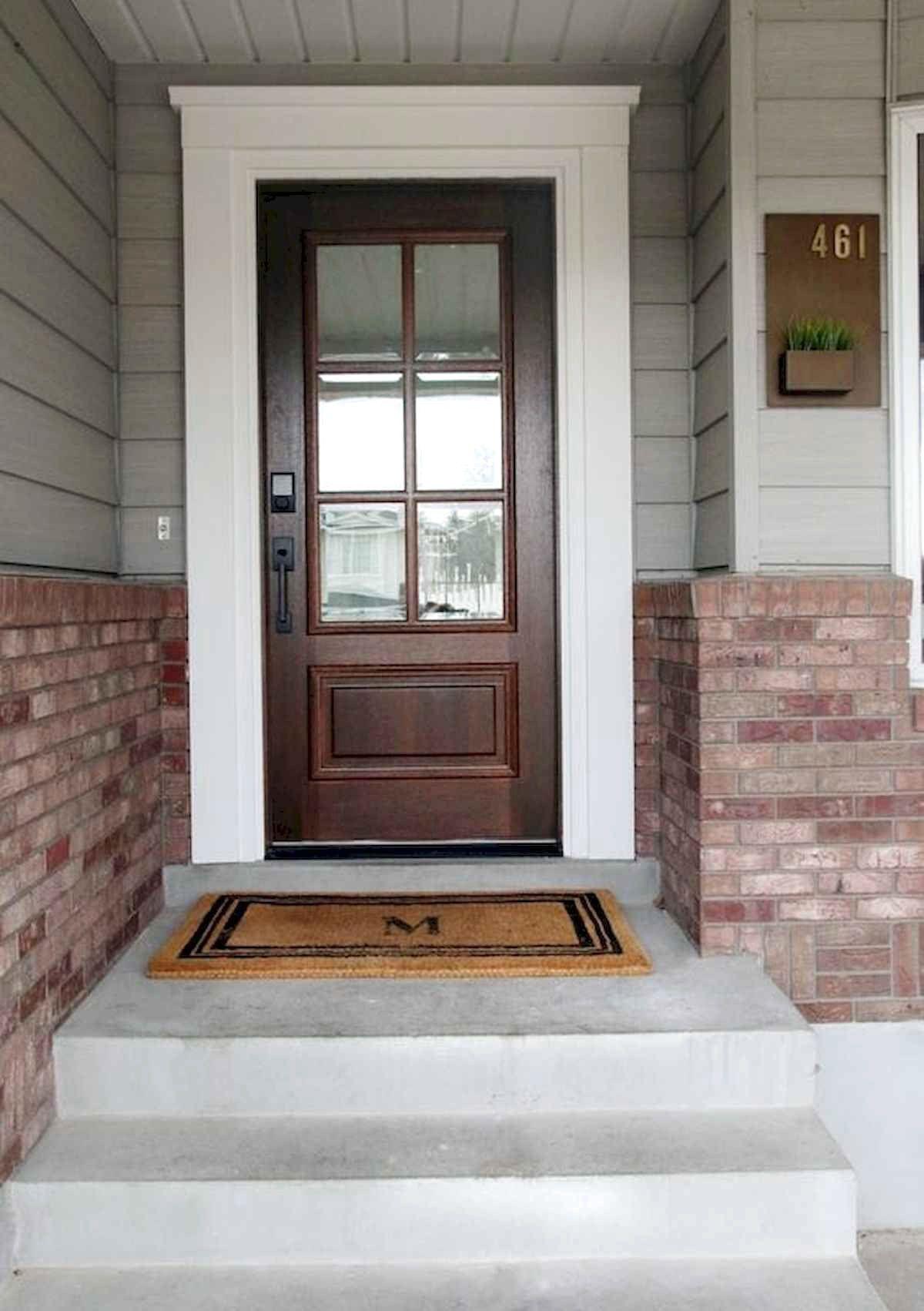 70 favourite modern farmhouse front door entrance design