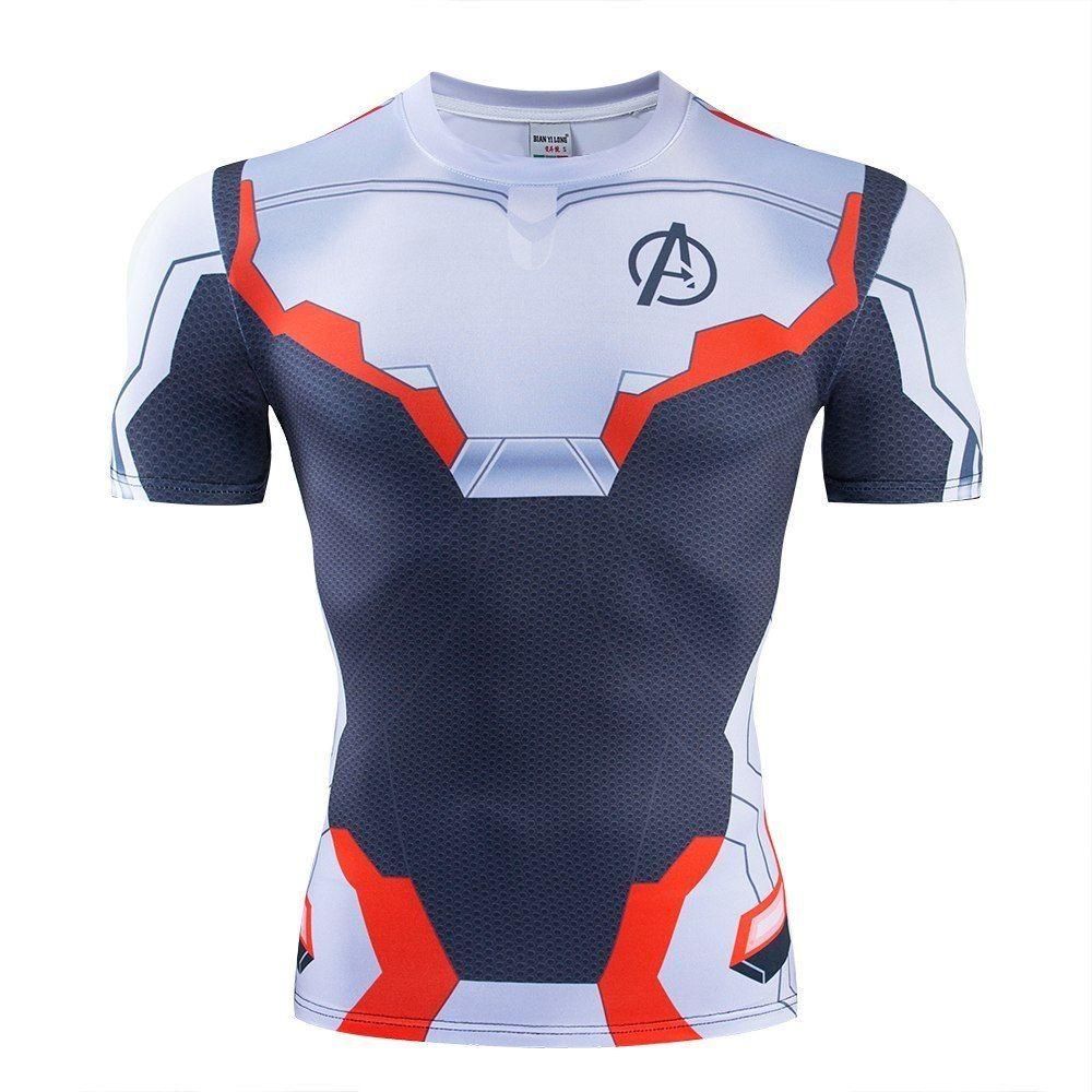 Men Avengers 4 Endgame T Shirt 3d Printed Tops Sport Quick Drying Breathable