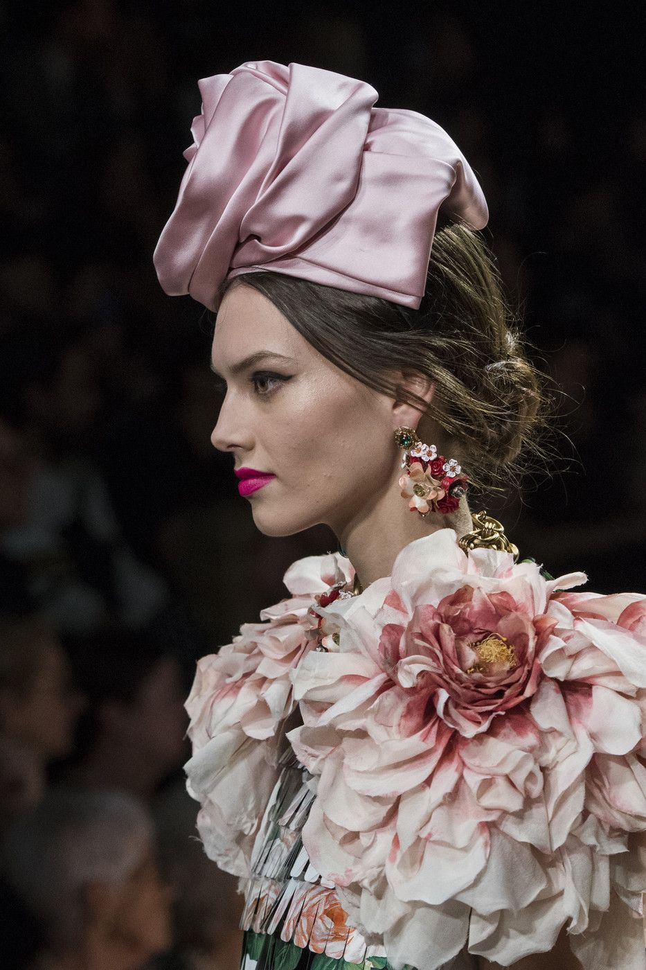 4f9689b4c Dolce & Gabbana at Milan Fashion Week Spring 2019 - Details Runway Photos Kentucky  Derby Hats