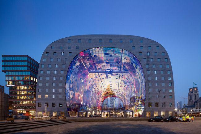 Markthal Rotterdam by MVRDV. Photography by Nico Saieh