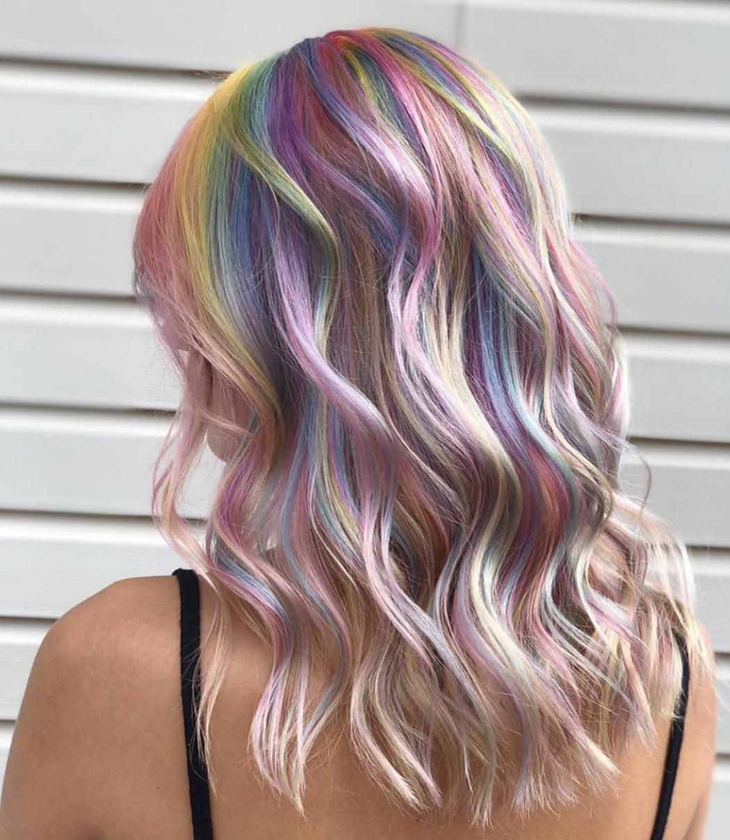 60 Classy Colors Ideas For Women Hairstyle Edgy Hair Color For Brunettes Edgy Hair Color 2020 Long Hair Ideas Ombre Ins Hair Styles Holographic Hair Hair Color