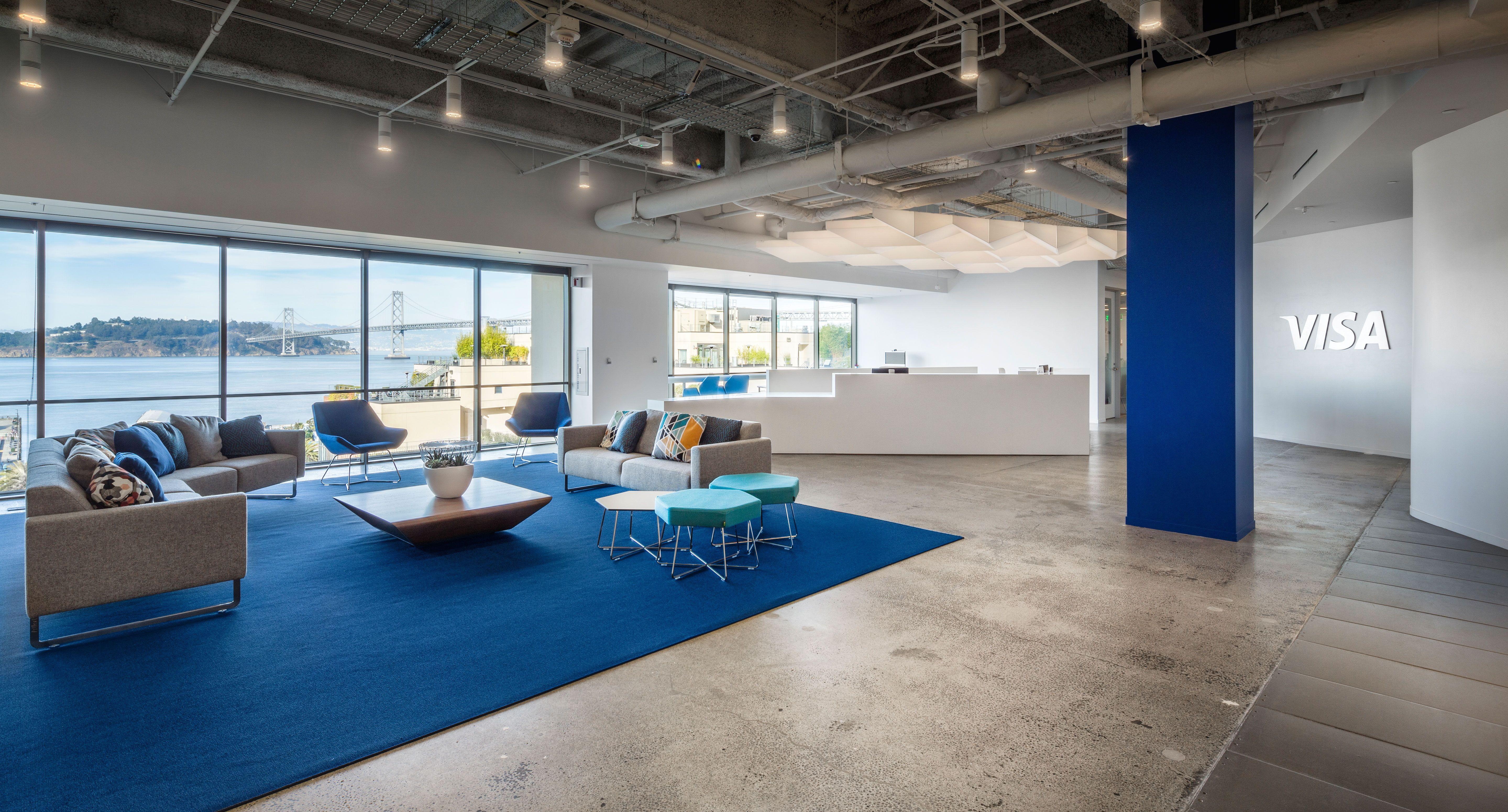 Visa - San Francisco Office | Design Resources - Spaces ...