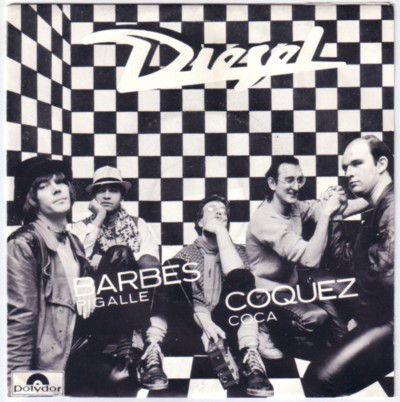 """Diesel (14) Barbès Pigalle / Coquez Cola 7"""", Single"""