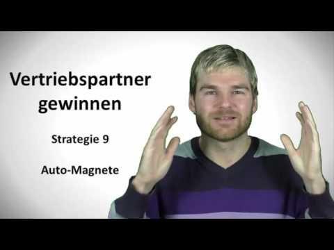 Vertriebspartner gewinnen Strategie 9 - Automagnete