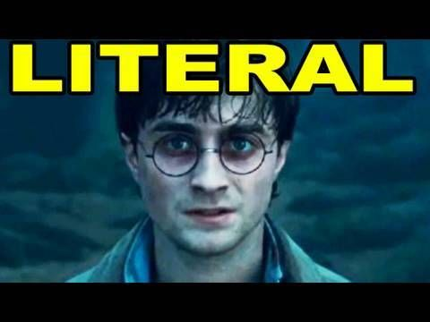LITERAL harry potter trailer... they basically narrate it for you... it's  hilarious!!!